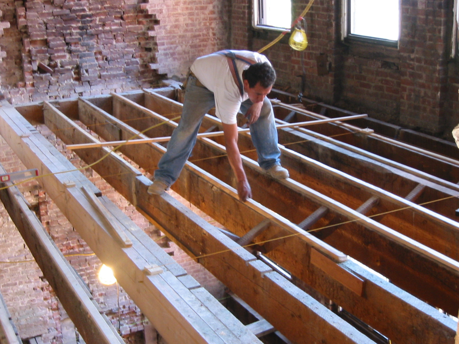 How To Level Floor Joists Home Flooring Ideas