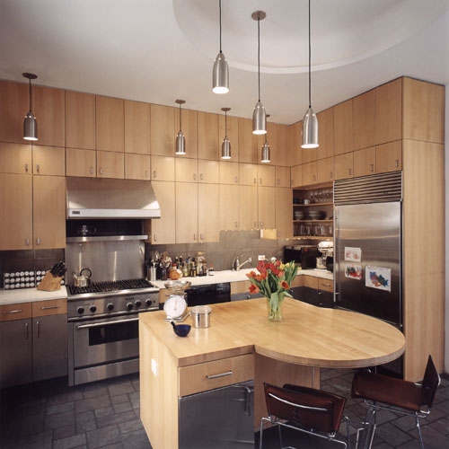 Rowhouse Residence - kitchen