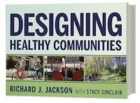 Book Cover - Designing Healthy Communities