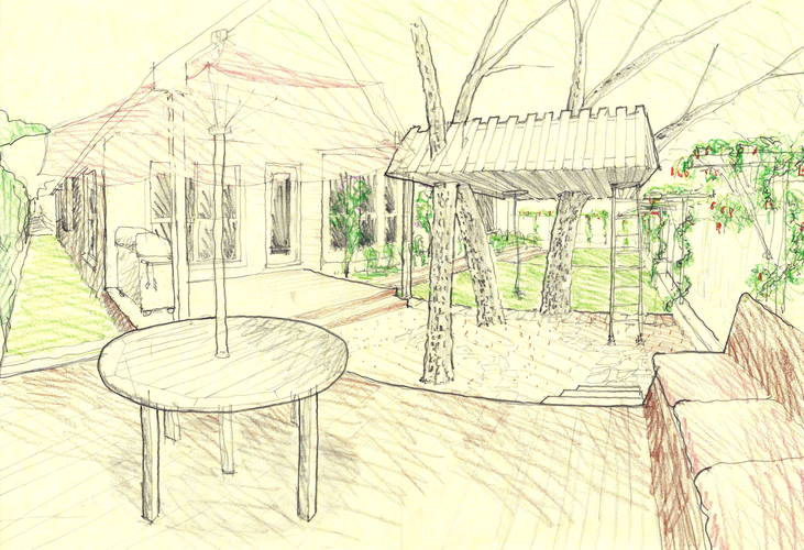 Outdoor Rooms Sketch