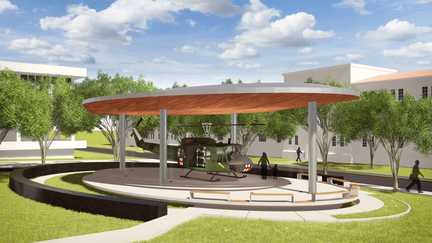 Dustoff Memorial Fort Sam Houston Syncro Architecture