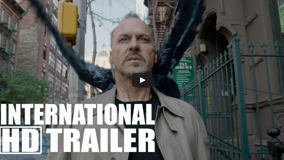 Birdman scene in front of the Crossroads made the trailer.