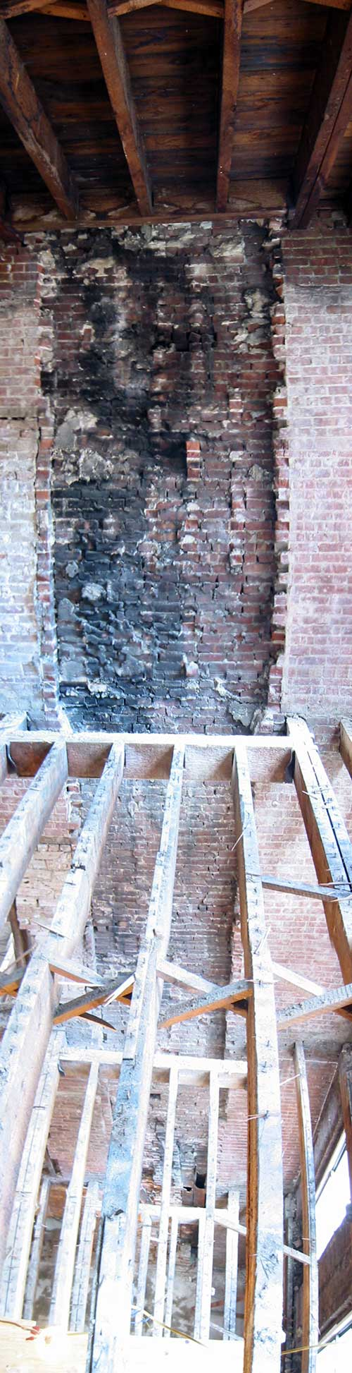 One of the most fun days of Construction Administration - observation of the existing joists - all 4 floors worth.