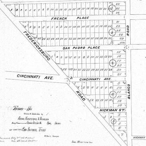 1906 Treasure Hill Plat