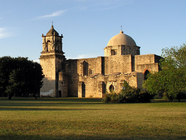 The San Jose Mission of San Antonio, Texas.